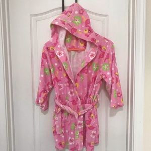 St. Eve Swim Robe Cover Up Flamingos Towel